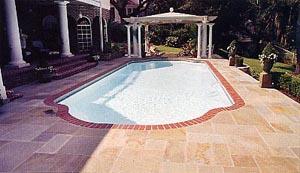 Geometric Roman Style Pool