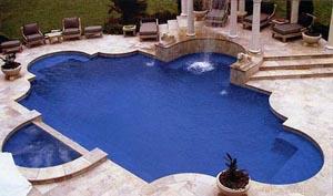 Roman Style Inground Pool