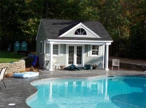 Dual Story Pool Cabana