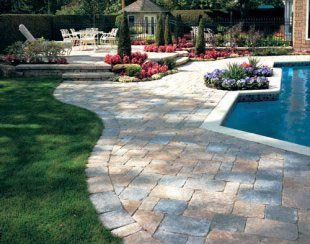 Tubmled Paver Decking